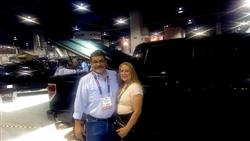 Frank and Diane Montoya attend SEMA 2013
